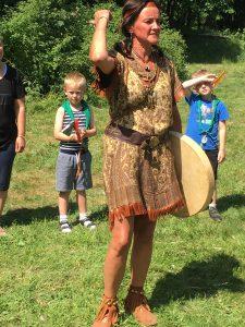 Indianer dans med Indianer Karen